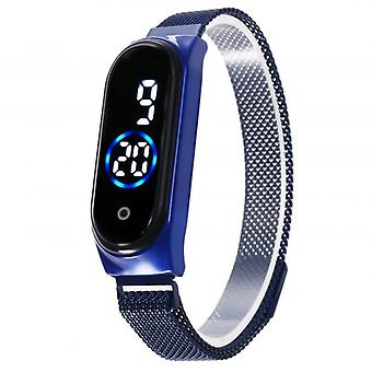 Led Magnetic Lodestone Waterproof Touch Watches