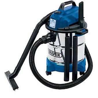 דרייפר 13785 20L 1250W 230V רטוב ושואב אבק יבש עם מיכל נירוסטה