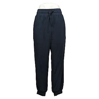 Nogen Kvinder & apos;s Bukser Regelmæssig Cozy Strik Jogger Blå A275081
