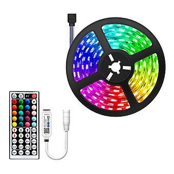 RGBYW Bluetooth LED Streifen 5 Meter - RGB-Beleuchtung mit Fernbedienung SMD 5050 Farbeinstellung wasserdicht