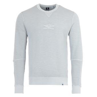 Pretty Green x Umbro Crew Neck Sweatshirt - Grey