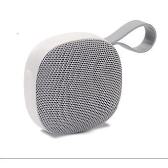 Bluetooth speaker waterproof mini wireless portable outdoor 3D stereo music (gray)