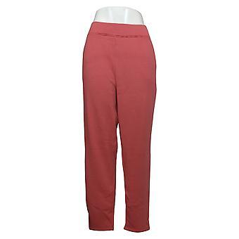 Cuddl Duds Pantalon femme Teddy Peluche Slim Rose A369293