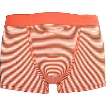 HOM Simon Stripes HO1 Boxer Trunk, Orange
