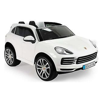 Children's Electric Car Injusa Porsche Cayenne 12V White (134 x 81,5 x 58 cm)