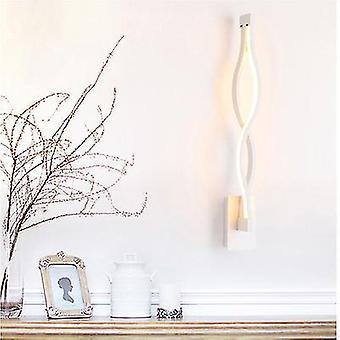 White light white modern minimalist wall lamps living room bedroom bedside led indoor black white lamp aisle lighting fa1348