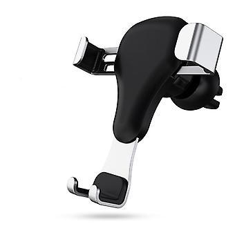 Liaison de gravité de ventilation d'air de voiture serrure automatique porte-téléphone de voiture téléphones intelligents