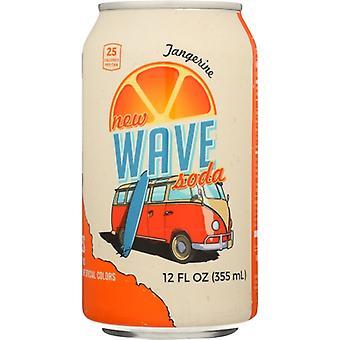 Wave Soda Soda Tangerine, obudowa 12 x 12 Uncja