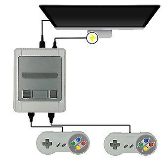 1600 Pelit 64 bittinen arcade 4k mini hd hd tv retro videopeli konsoliohjain kädessä pidettävä klassikko snes dual gamepad soitin
