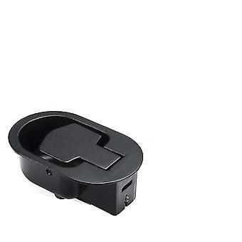 nytt 90cm 1 set metallfrisättningsspakshandtag + kabel sm40103