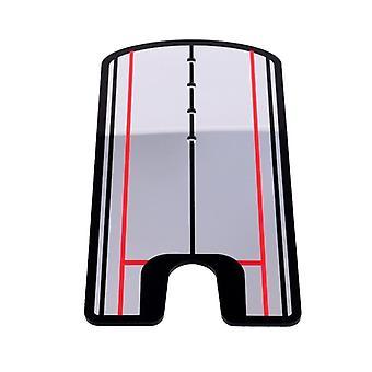 لعبة غولف وضع مرآة جولف التدريب مساعدة محاذاة سوينغ المدرب سوينغ على التوالي