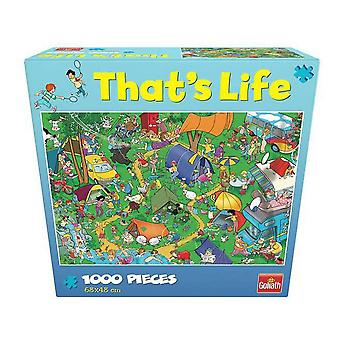 Puzzle That´s Life  Goliath Camping (1000 pcs)