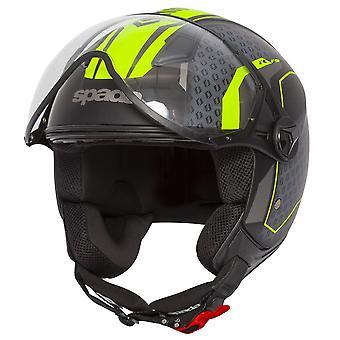 Spada Hellion Arrow Open Face Casco de motocicleta Fluo