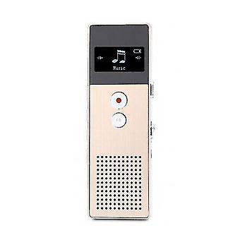 Voice Recorder Recorder with USB Support(Golden)