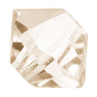 Preciosa tjekkisk krystal, Bicone Perle 3mm, 36 stykker, Crystal Honey