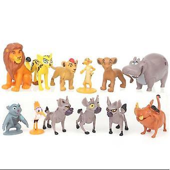12pcs Lion King Simba Action Figure Doll Kid Toy