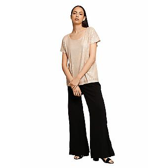 Shuuk Classy Beautifully Shimmery Sequin Top with Comfortable Elegance Loose-Fit