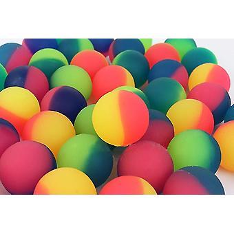 Balles de terrain de jeu élastique caoutchouc bouncy ball bain extérieur gonflable sm153302
