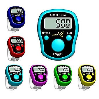 Stitch Marker Row Hand Tally Finger Counter-lcd Electric Digital Display con