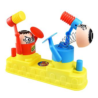 Mini Baby Toys Kids Doll Double Battle Game Parent-Child Interactive Hammer Hiding Game Baby Early Education