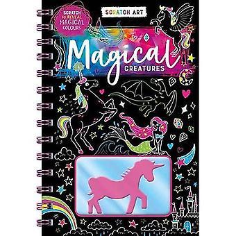 Scratch & Colour: Magical Creatures