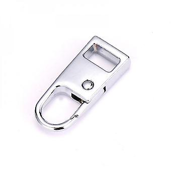 Zipper Pull Tab Replacement Metal Extension Handle Fixer For Luggage Backpack Suitcase