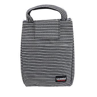 مخطط حقيبة الغداء مربع المرأة حمل الباردة المعزولة برودة السفر العمل مدرسة نزهة حقيبة الطعام| الحقائب