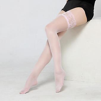 Seksikäs Sheer Pitsi Top Thigh Highs Sukat Seksikäs Alusvaatteet Nainen