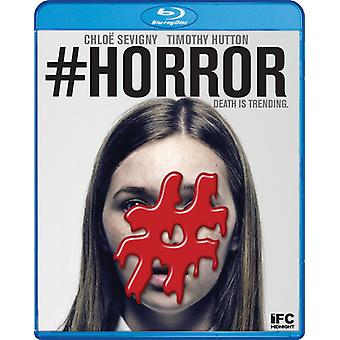 #Horror [Blu-ray] USA importere