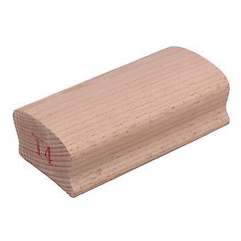 آلة وترية البولندية الخشب الإلتصاق نصف قطرها 14 # كتلة الرملي للغيتار fretboard الرملي ppm-1250
