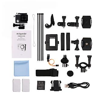 Mini 4k 170 Degree Wifi Dv Action Sports Camera Video Camcorder Black