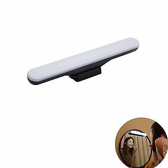Bathroom Wall Lamp Wireless Mirror Headlight Free Punching Led Makeup Fill Desk Lamp Rechargeable Desk Lamp Bathroom Mirror Headlight  Stepless Dimmin