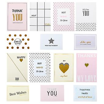 Thank You Cards, Thanksgiving Wedding Birthday Baby Shower (european Style, 98 Photos In Total)