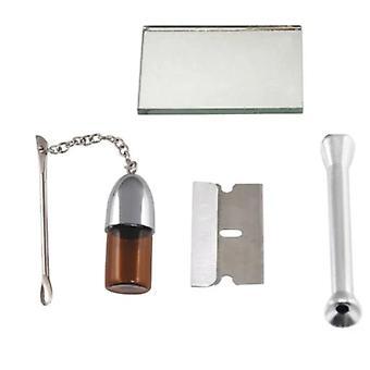 Schnupftabak-Pulling-Kit, Pulverledertasche