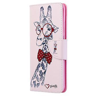 Fall für Huawei P40 Pro Muster Giraffe