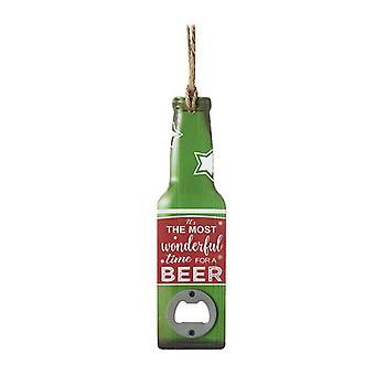 Heaven Sends Beer Opener Christmas Tree Decoration