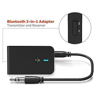 2 in 1 ワイヤレス Bluetooth 5.0 トランスミッター レシーバー 3.5 mm オーディオ ジャック Aux アダプタ
