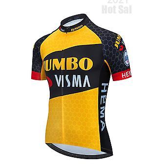 2021 Winter New Pattern Thermal Fleece Warm Cycling Jersey Set Men Outdoor Riding Mtb Ropa Ciclismo Bib Pants Set Cycling