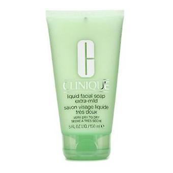 Clinique السائل صابون الوجه أنبوب خارج خفيفة (جافة جدا إلى جافة) - 150ml/5oz