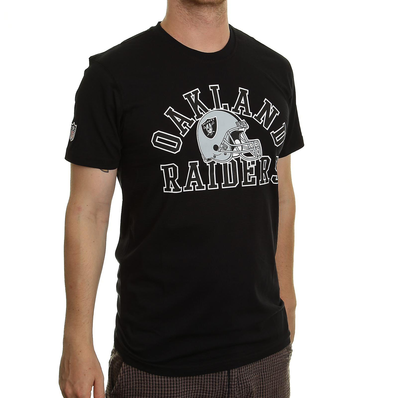 New Era and NFL College  T-Shirt ~ Oakland Raiders