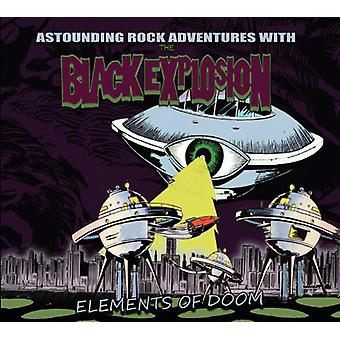Black Explosion - Elements of Doom [Vinyl] USA import