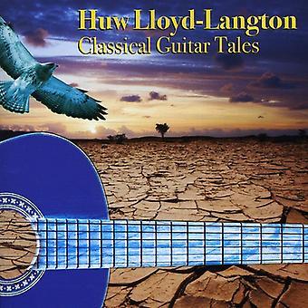 Huw Lloyd-Langton - klassisk gitar Tales [DVD] USA import