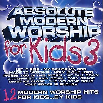Absolute Modern Worship for Kids - Vol. 3-Absolute Modern Worship for Kids [CD] USA import