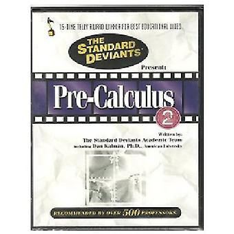 Standard Deviants - Pre-Calculus Pt. 2 [DVD] USA import