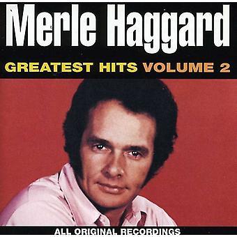 Merle Haggard - Merle Haggard: Vol. 2-Greatest Hits [CD] USA import