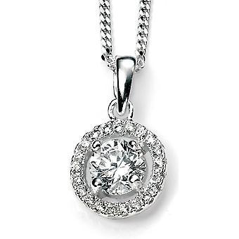 925 Silver zirconia Necklace Trend