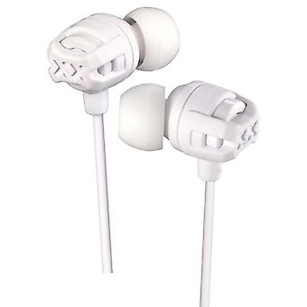 Xtreme Xplosives In Ear Headphones with Mic And Remote - White (Model HAFX103MW)