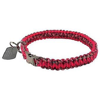 HS Sprenger Paracord necklace 35 cm Limited Edition Red Lock