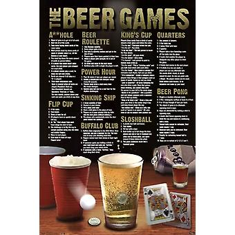 The Beer Games Poster Poster Print