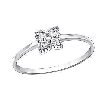 Fiore - 925 Sterling Silver Cubic Zirconia anelli - W30644X